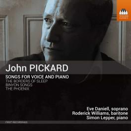 Pickard, John : Mélodies pour voix et piano