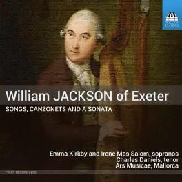 Jackson of Exeter, William : Mélodies, Canzonette et Sonate