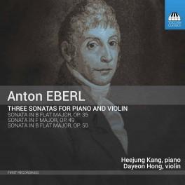 Eberl, Anton : Trois Sonates pour piano et violon