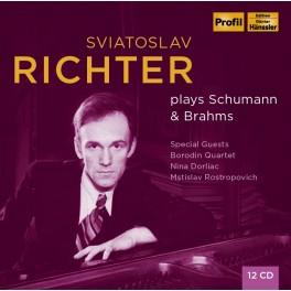 Sviatoslav Richter joue Schumann & Brahms