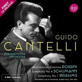 Guido Cantelli dirige Rossini, Schumann & Brahms