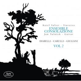 Oeuvres pour flûte et guitare Vol.2 / Ensemble Consolazione