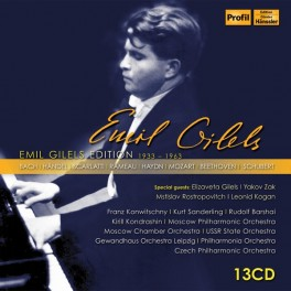 Emil Gilels Edition Vol.1 1933-1963