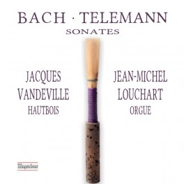 Bach - Telemann : Sonates pour hautbois