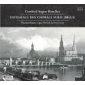 Homilius, Gottfried August : Intégrale des Chorals pour orgue