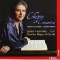 Chopin : Concertos pour piano (version de chambre) / Janina Fialkowska