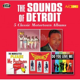 Five Classic Motortown Albums / The Sounds Of Detroit