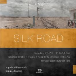 Dan-Borodine-Busoni : Silk Road, oeuvres orchestrales