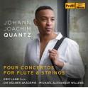 Quantz : Quatre Concertos pour flûte et cordes