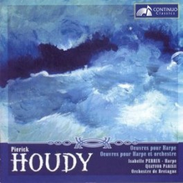 Houdy, Pierick : Oeuvres pour harpe & Oeuvres pour harpe et orchestre