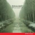 Brahms : Oeuvres pour alto