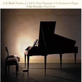 Bach, J-S : Partitas n°4 et 6, Suite Française n°5, Fantaisie et Fugue