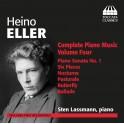 Eller, Heino : Intégrale de la musique pour piano - Vol.4