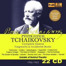 Tchaïkovski : Intégrale des Opéras, Fragments, Musique de Scène