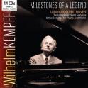 Milestones of a Legend / Wilhelm Kempff - Beethoven : Intégrales des Sonates pour piano et pour violon & Piano