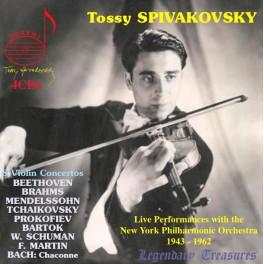 8 Concertos pour violon / Tossy Spivakovsky