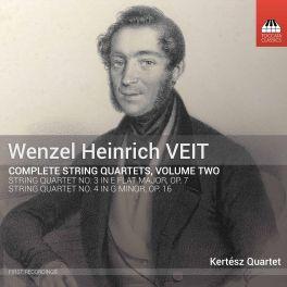 Veit, Wenzel Heinrich : Intégrale des Quatuors à Cordes - Vol.2