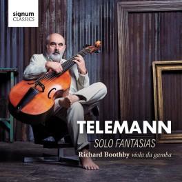 Telemann : Fantaisies Solo / Richard Boothby