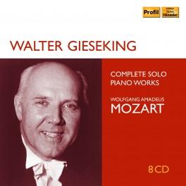 Mozart : Intégrale de l'Oeuvre pour piano solo / Walter Gieseking