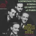 Haydn & Mozart : Quatuors à cordes / Loewenguth Quartet of Paris - Vol.1