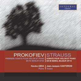Prokofiev-Strauss : Sonates pour violon et piano