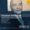 Shebalin : Intégrale de la Musique pour violon et piano