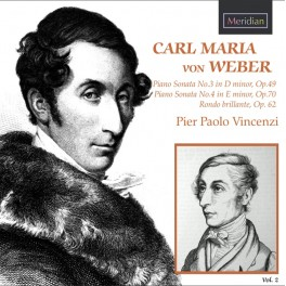 Weber : Sonates pour piano - Volume 2