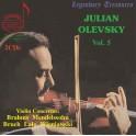 Concertos pour violon / Julian Olevsky Legendary Treasures Vol.5