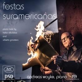 Villa-Lobos - Ginastera : Festas suramericanas, Oeuvres pour piano