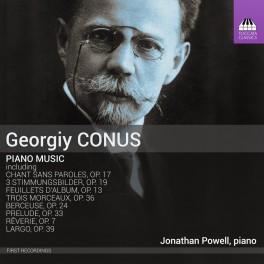 Conus, Georgiy : Musique pour piano