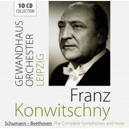 Schumann - Beethoven : Intégrale des Symphonies / Franz Konwitschny