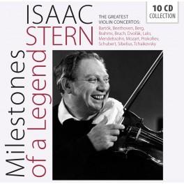 Milestones of a Legend / Isaac Stern - Les Grands Concertos pour violon