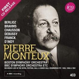 Pierre Monteux dirige Debussy, Chausson, Brahms, Franck ... (Richard Itter Collection)