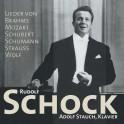 Lieder de Brahms, Mozart, Schubert, Strauss ... / Rudolf Schock