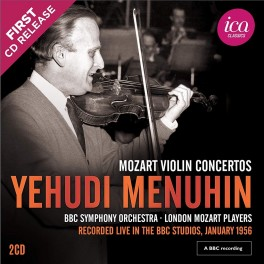 Mozart : Concertos pour violon / Yehudi Menuhin (Richard Itter Collection)