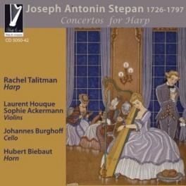 Stepan, Antonin Josef : Concertos pour Harpe Op.3