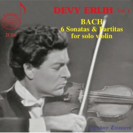 Bach : 6 Sonates et Partitas / Legendary Treasures Devy Erlih Vol.1
