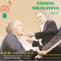 Bach : Concertos pour piano / Legendary Treasures Tatiana Nikolayeva Vol.2