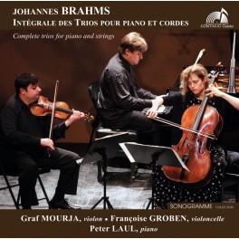 Brahms : Intégrale des Trios pour piano et cordes