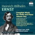 Ernst, Heinrich Wilhelm : Intégrale de la Musique pour Violon et Piano Vol.1
