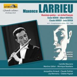 Maxence Larrieu : Musiciens Poètes - un Récital français / Grands Solistes - Archives I.N.A