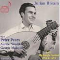 Julian Bream au Festival d'Aldeburgh en 1958 et 1959