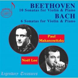 Beethoven - Bach : Intégrale des Sonates pour violon et piano