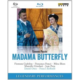 Puccini : Madame Butterfly (BD) / Arènes de Vérone, 2004