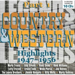 Country & Western - Highlights 1947-1956