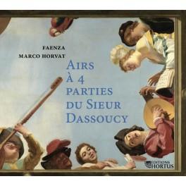 Dassoucy, Charles : Airs à 4 parties du Sieur Dassoucy