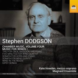 Dodgson : Musique de Chambre Vol.4 - Musique pour vents
