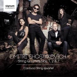 Chostakovitch : Quatuors à cordes n°2, n°1, n°7