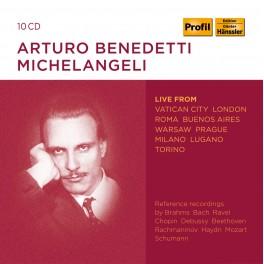 Live au Vatican, Londres, Rome, Buenos Aires / Arturo Benedetti Michelangeli