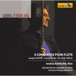 Lebrun - Haydn : Concertos pour flûte